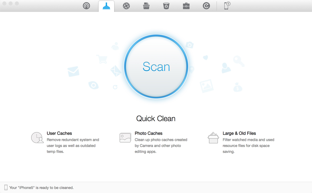 PhoneClean for Mac Screenshot 2