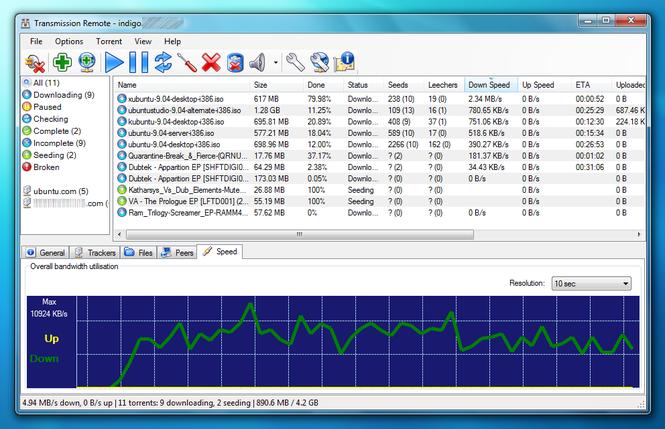 Transmission Remote: Magnet Friendly Edition Screenshot 1