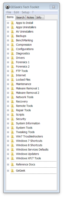 GEGeek Tech Toolkit Screenshot