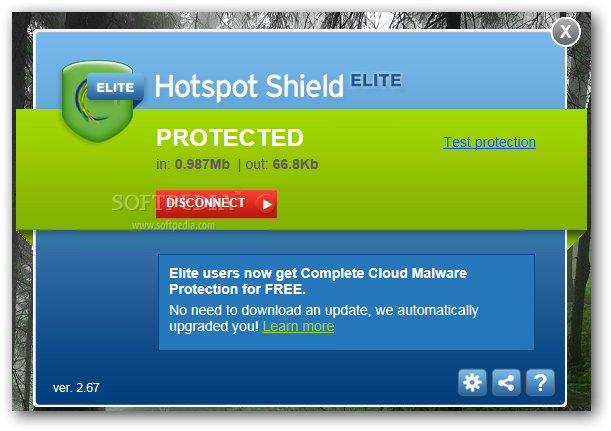 Hotspot Shield Elite Screenshot
