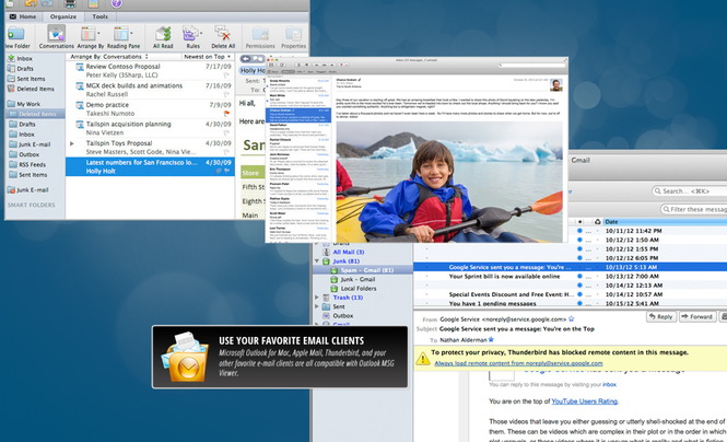 Outlook MSG Viewer for Mac Screenshot
