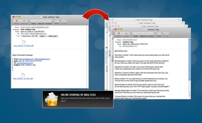 Outlook MSG Viewer for Mac Screenshot 4