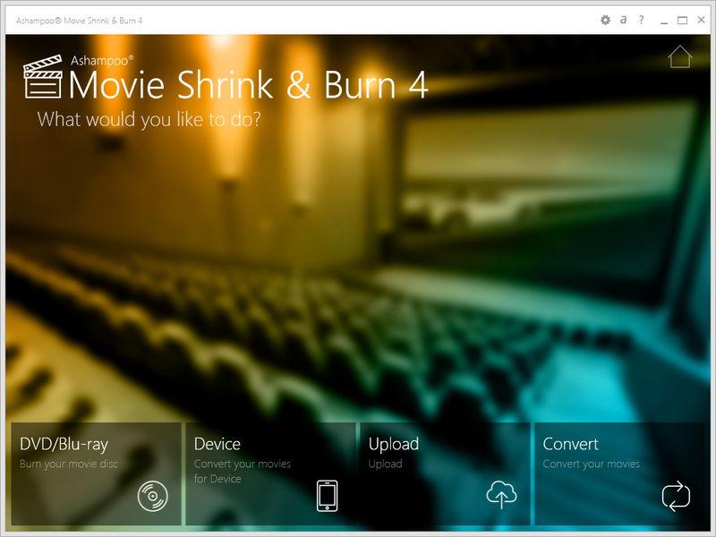 Ashampoo Movie Shrink & Burn 4 Screenshot 2