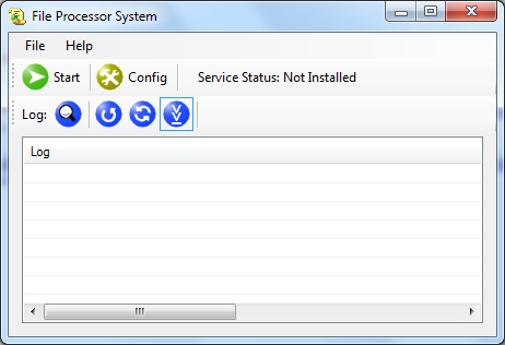 File Processor System Screenshot
