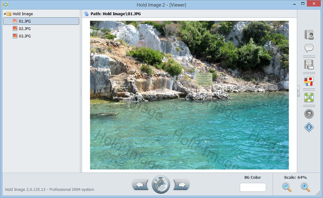 Hold Image Viewer Screenshot