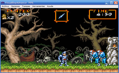 Visual Boy Advance Screenshot