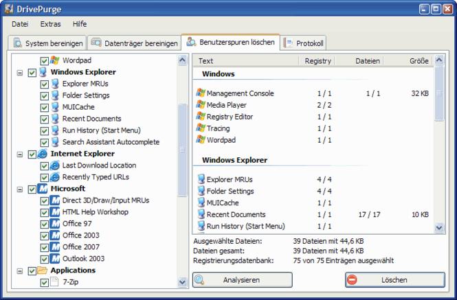 DrivePurge Screenshot 3
