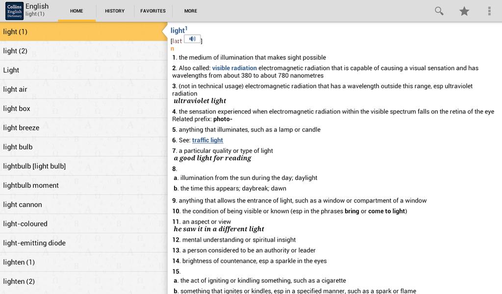 Collins English Dictionary Complete & Unabridged Screenshot 6