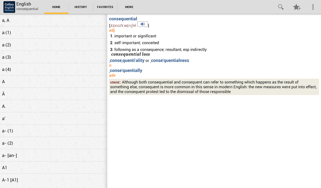 Collins English Dictionary Complete & Unabridged Screenshot 7