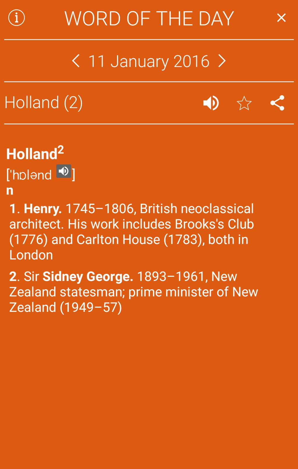 Collins English Dictionary Complete & Unabridged Screenshot 21