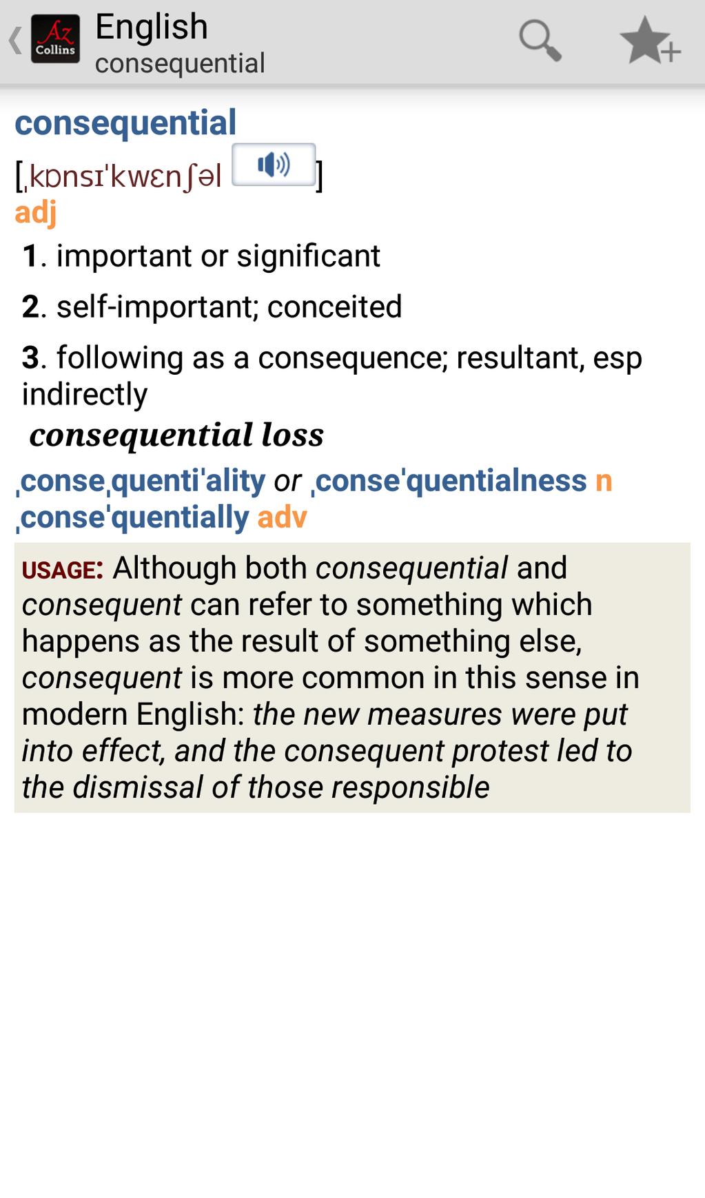 Collins English Dictionary Complete & Unabridged Screenshot 10