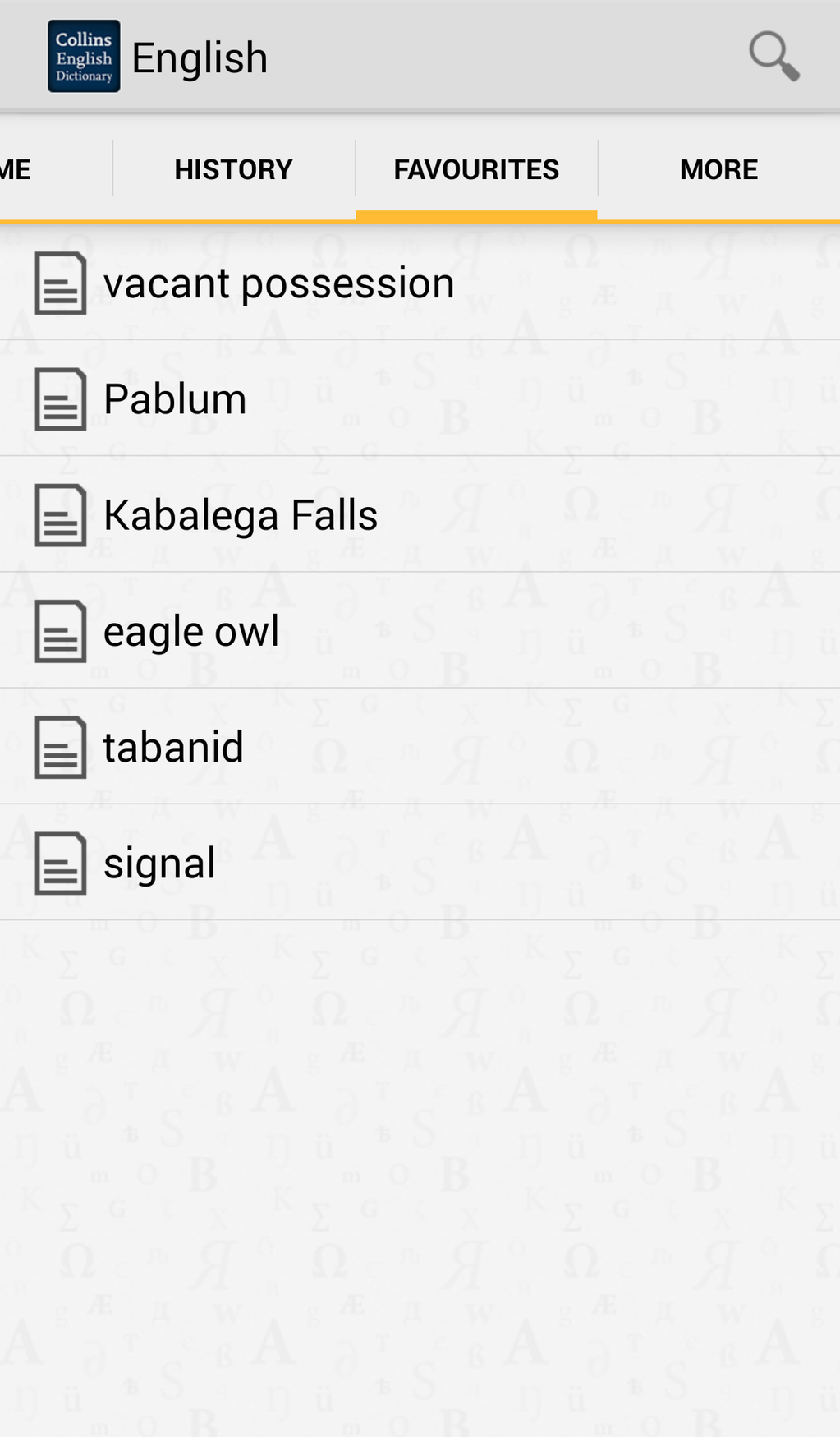 Collins English Dictionary Complete & Unabridged Screenshot 3