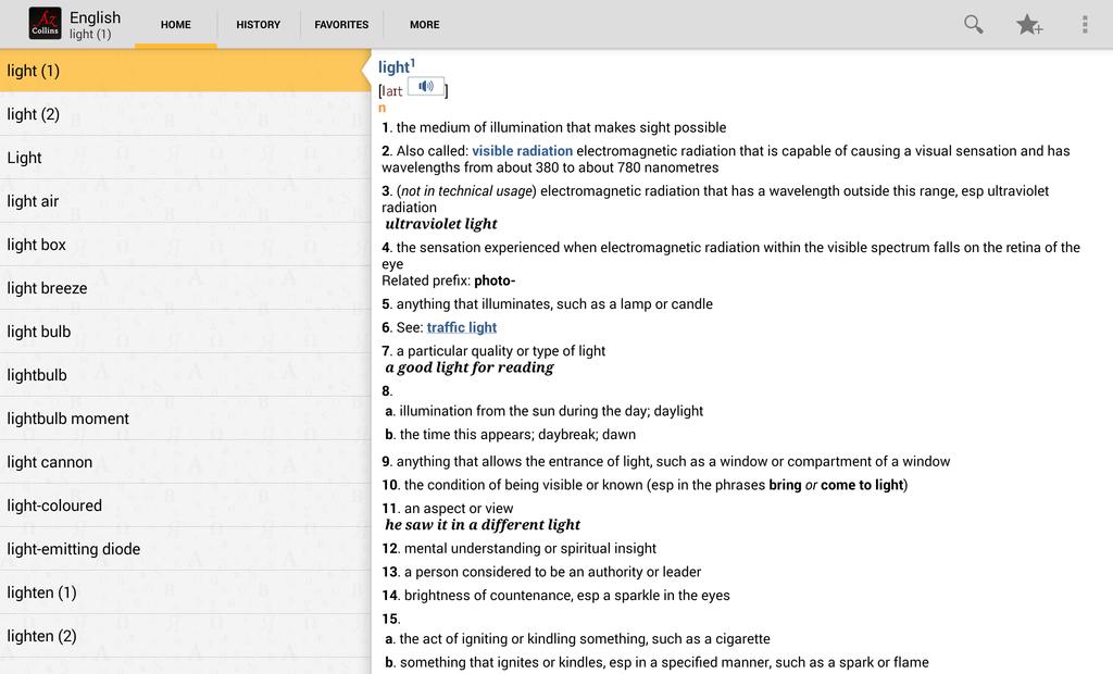 Collins English Dictionary Complete & Unabridged Screenshot 14