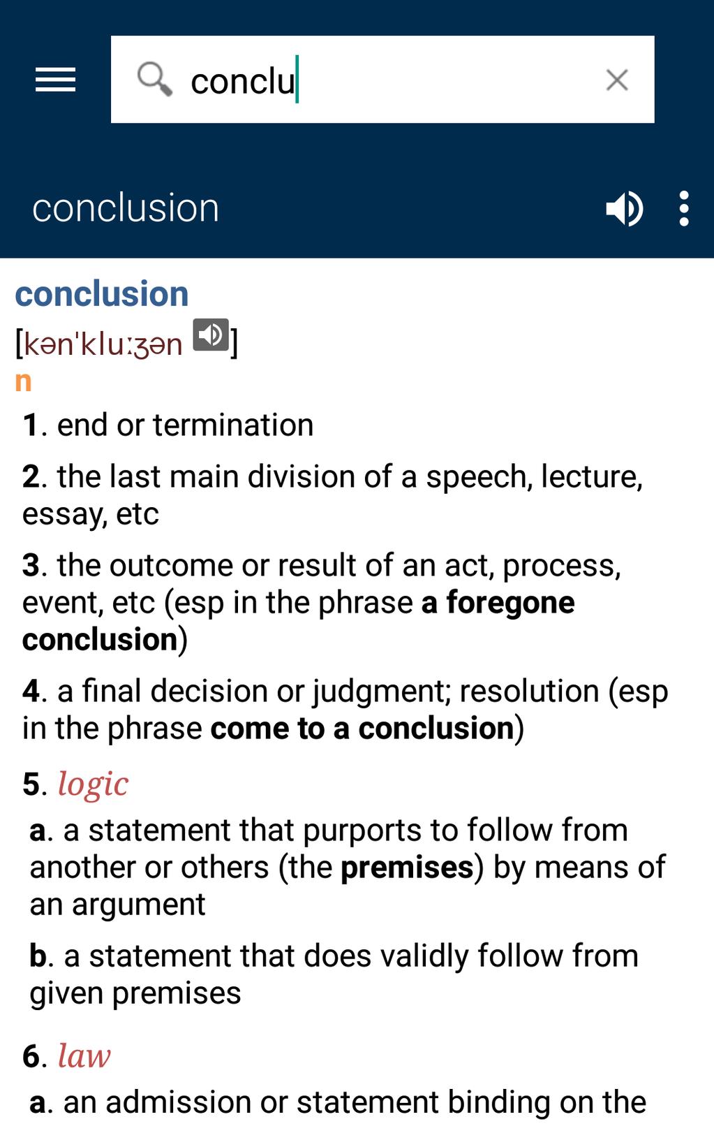 Collins English Dictionary Complete & Unabridged Screenshot 17