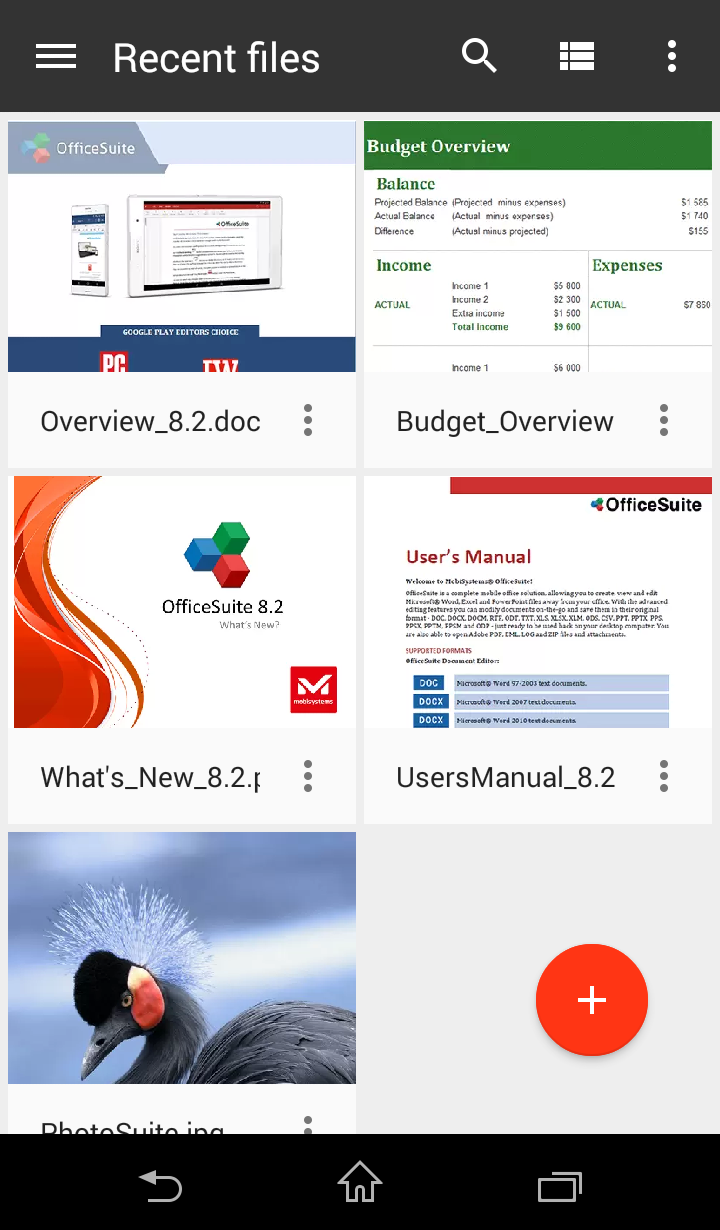 OfficeSuite Professional Screenshot 7