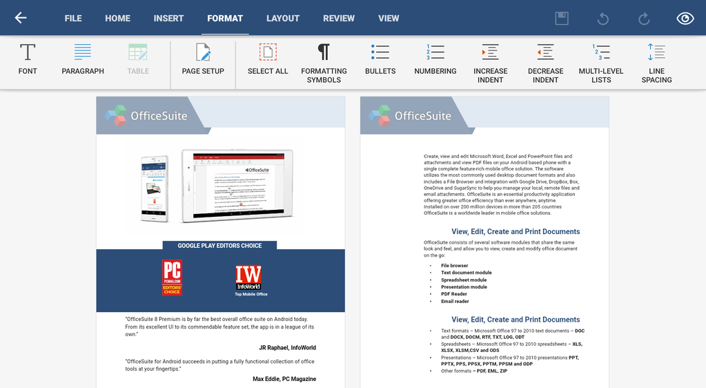 OfficeSuite Professional Screenshot 38