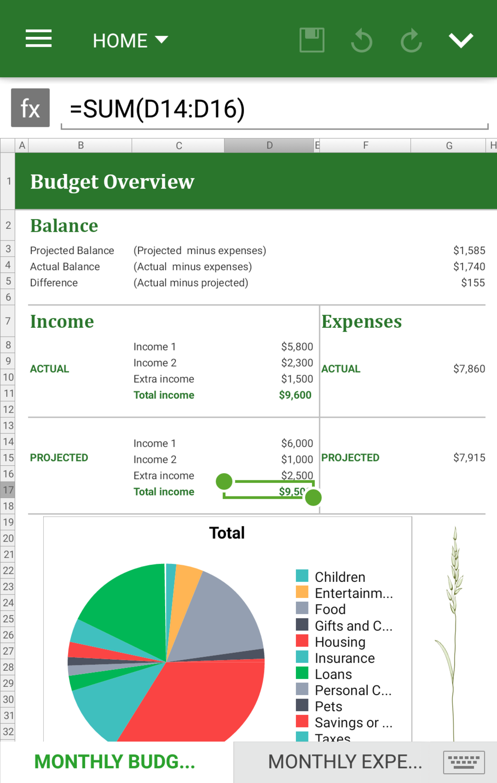 OfficeSuite Professional Screenshot 2