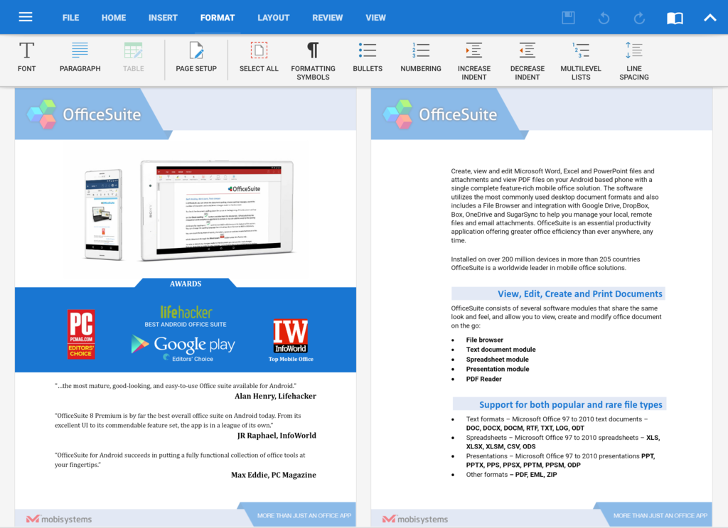 OfficeSuite Professional Screenshot 28