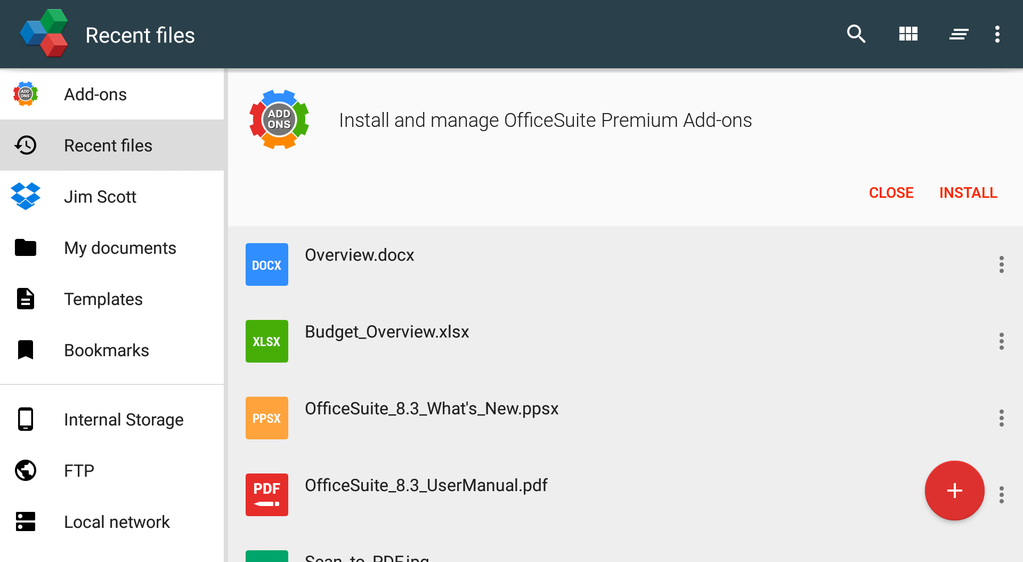 OfficeSuite Professional Screenshot 39
