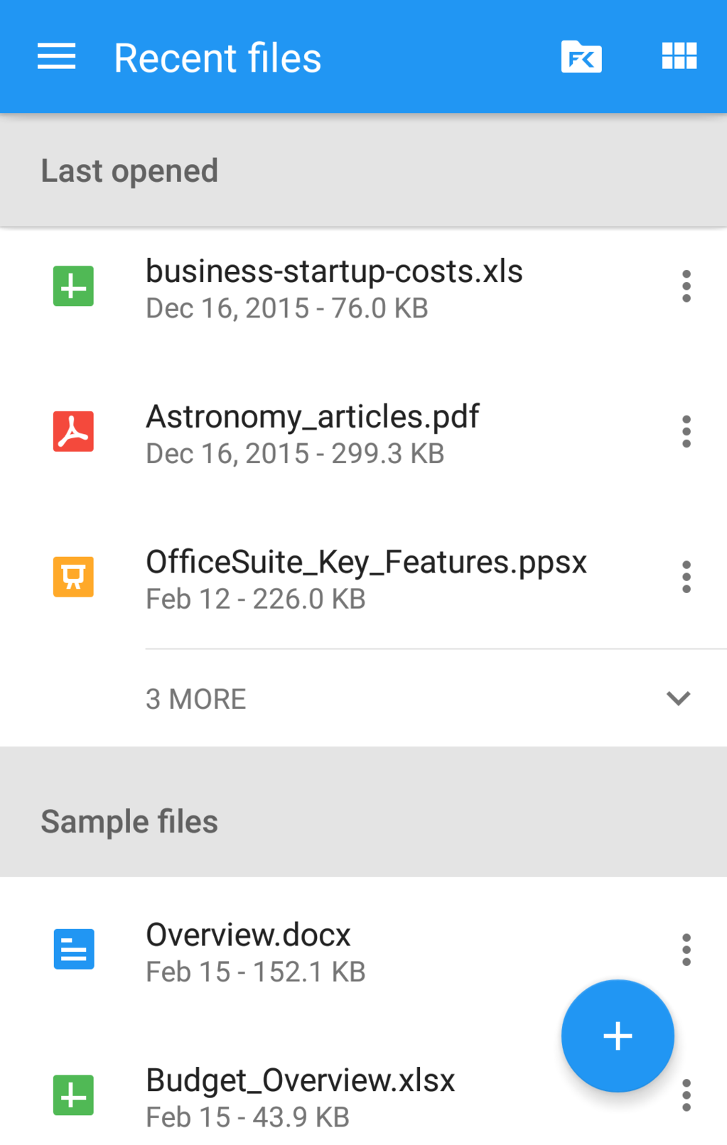 OfficeSuite Professional Screenshot 23