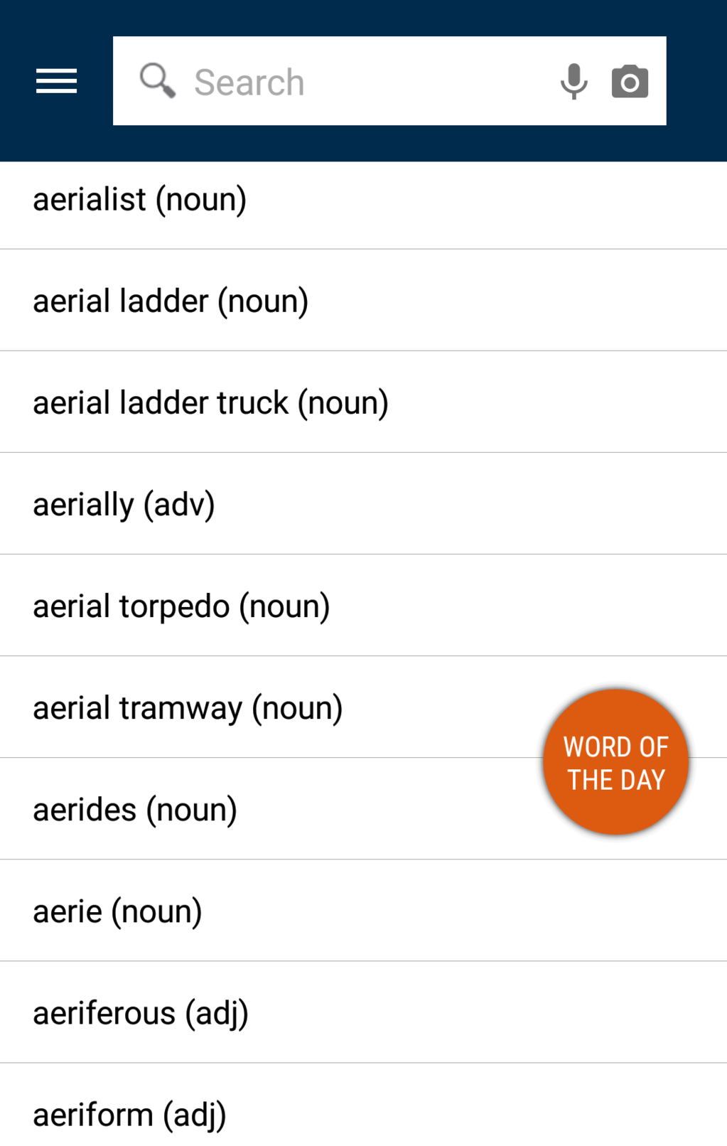 Advanced English Dictionary & Thesaurus Screenshot 9