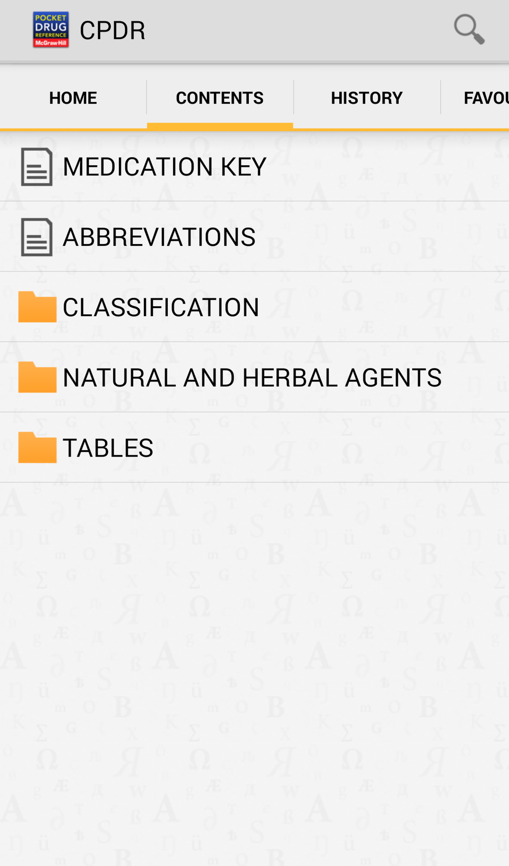 Clinician's Pocket Drug Reference 2016 Screenshot 5