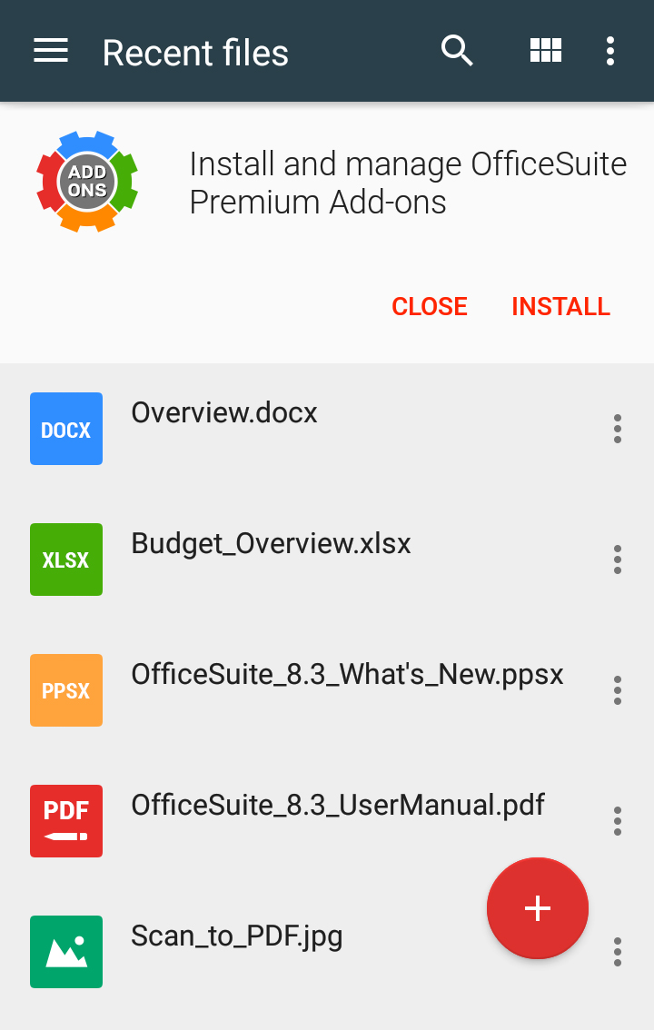 OfficeSuite Free Screenshot 23