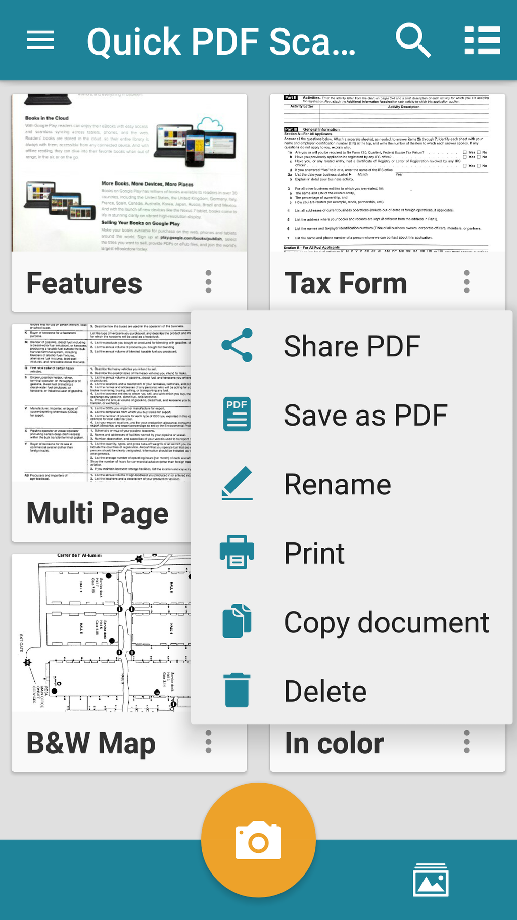 Quick PDF Scanner Screenshot 15