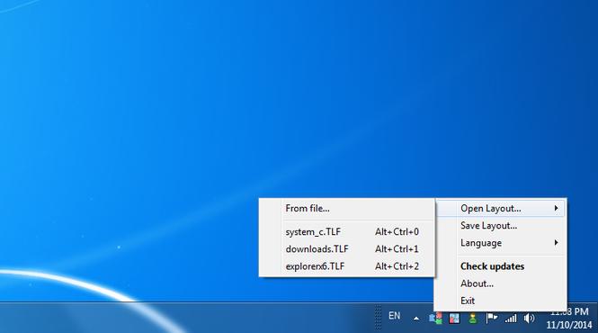 TaskLayout Screenshot 1