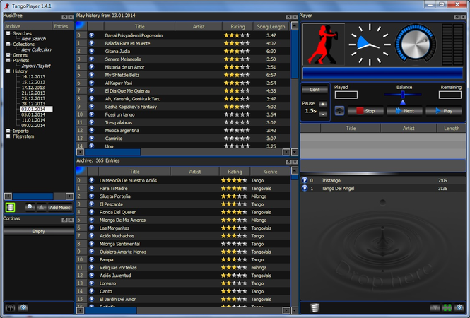 TangoPlayer Screenshot 1
