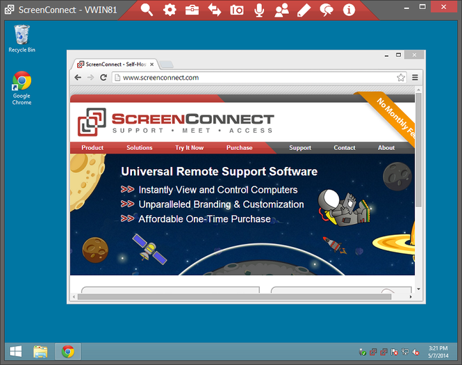 ScreenConnect Screenshot 1