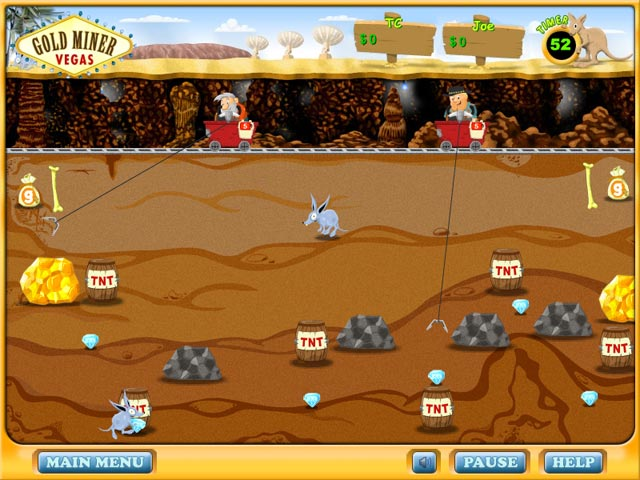 Gold Miner Vegas Screenshot 2