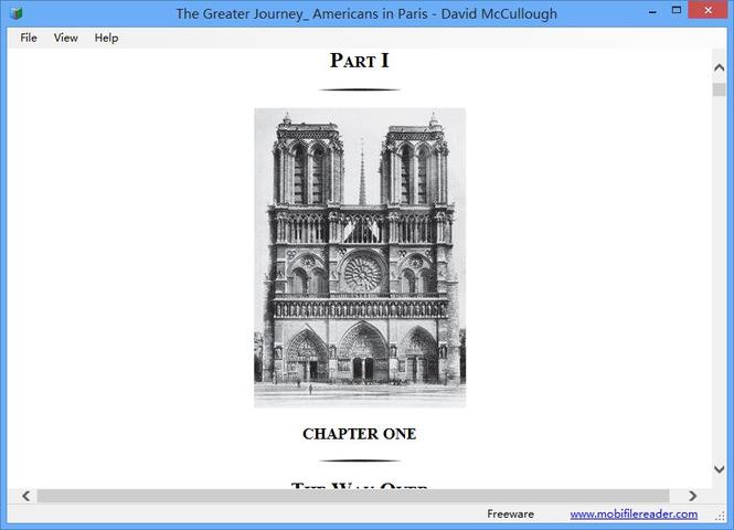 Mobi File Reader Screenshot 2