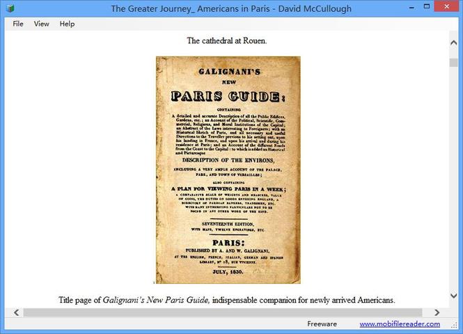 Mobi File Reader Screenshot 3