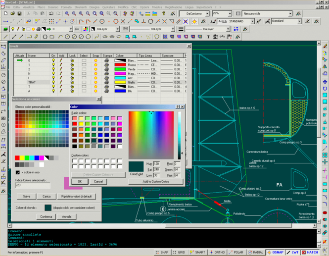 devCad Professional Screenshot