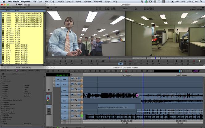 Avid Media Composer Screenshot 1