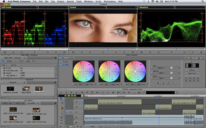 Avid Media Composer Screenshot 2