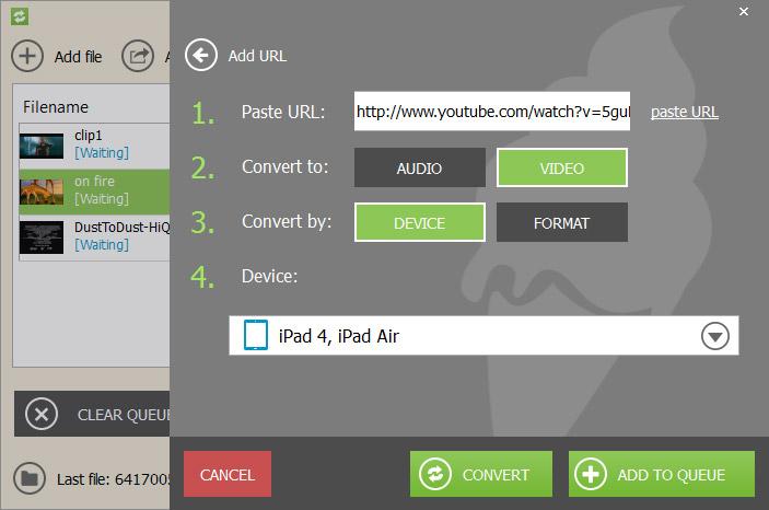 Icecream Media Converter Screenshot 3