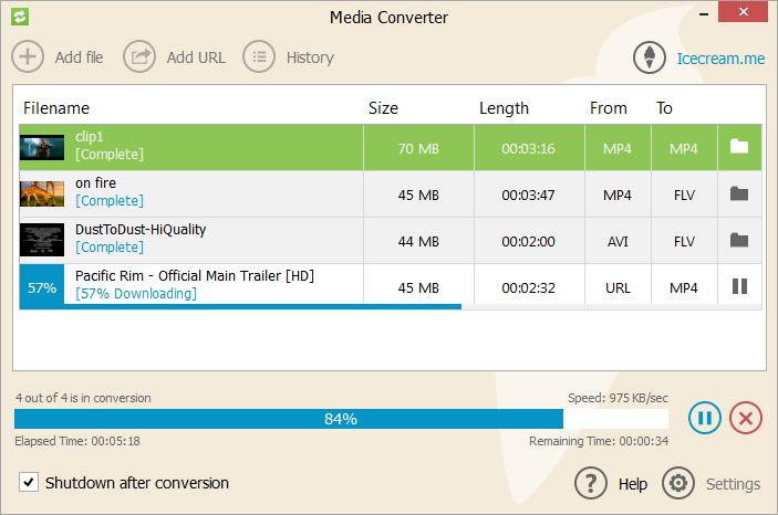 Icecream Media Converter Screenshot 4