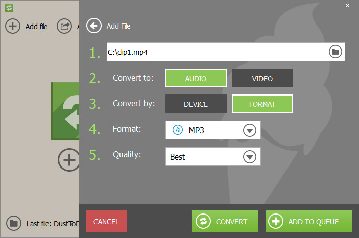 Icecream Media Converter Screenshot 2