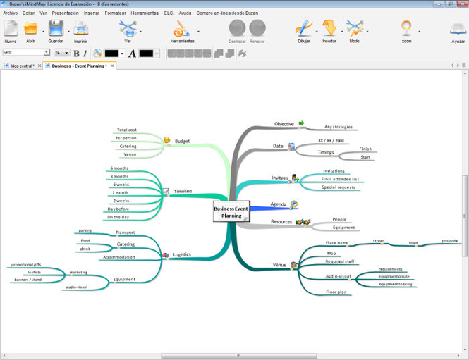 iMindMap Screenshot 2