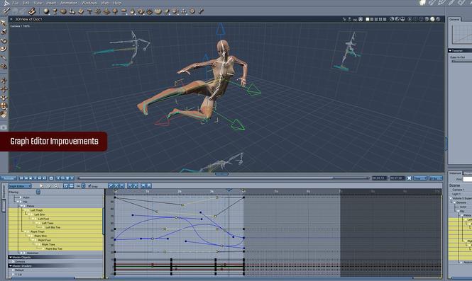 Carrara 8 Pro Screenshot 3