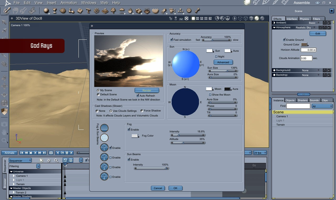 Carrara 8 Pro Screenshot 2