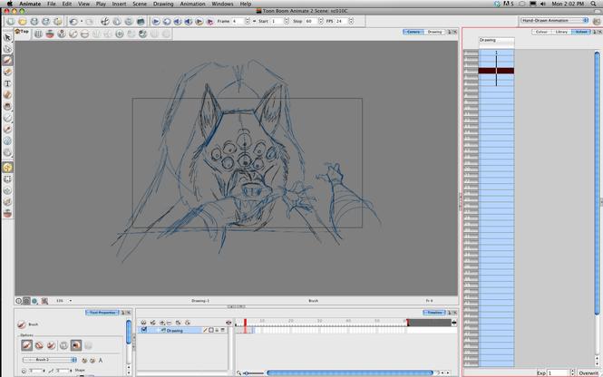 Toon Boom Animate Screenshot 2
