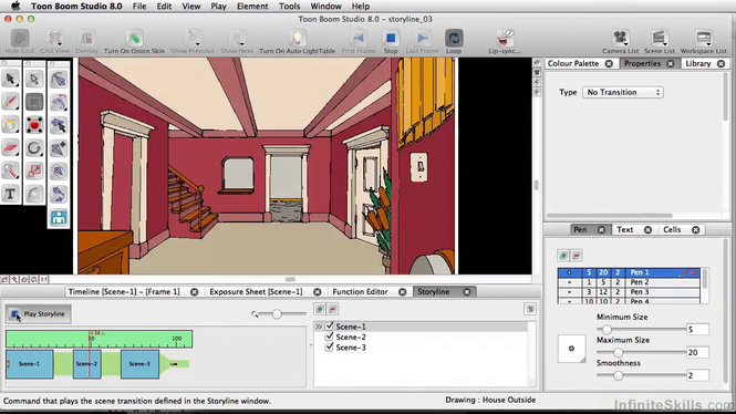 Toon Boom Studio Screenshot 2