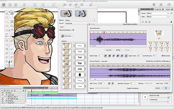 Toon Boom Studio Screenshot