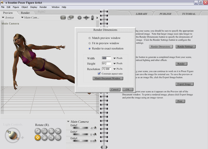 Poser Figure Artist Screenshot 3