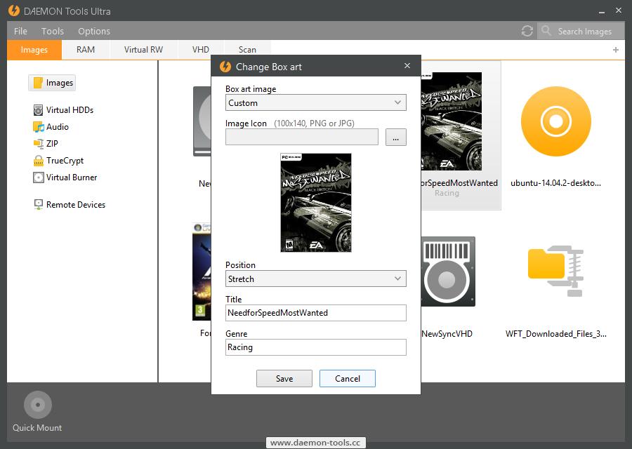 DAEMON Tools Ultra Screenshot 4