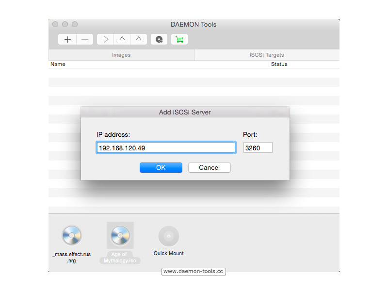 DAEMON Tools for Mac Screenshot 6