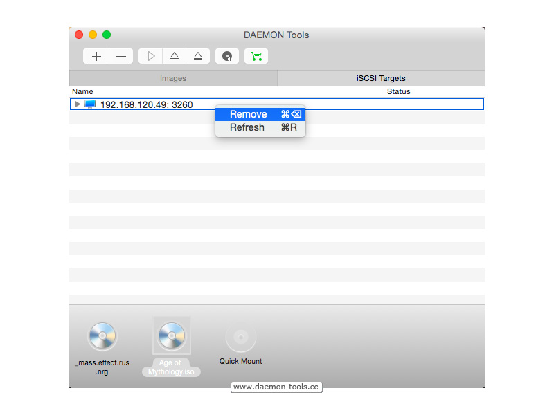 DAEMON Tools for Mac Screenshot 7